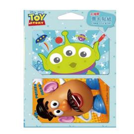 【收藏天地】迪士尼系列*票卡貼-玩具總動員(7款)