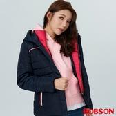 BOBSON 女款連帽鋪棉外套(38105-53)