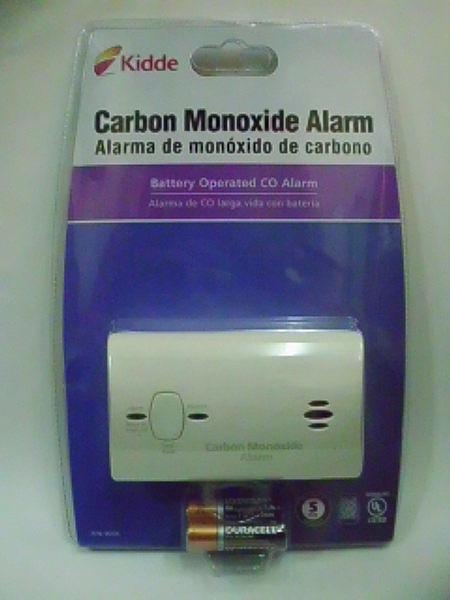 消防器材批發中心 Kidde kn-cobb 9c05一氧化碳偵測警報器(9v電池驅動)