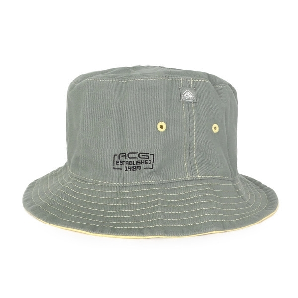 Nike Cap ACG [594122-318] 漁夫帽 運動 休閒 戶外 登山 造型 雙面使用 M/L 棉 灰黃