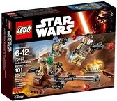75133【LEGO 樂高積木】星際大戰 Star Wars-原力覺醒 Rebel Alliance Battle Pack