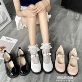 娃娃鞋 2020春季小皮鞋女復古瑪麗珍鞋女厚底一字扣學院風JK軟妹娃娃鬆糕 朵拉朵YC