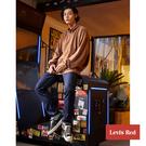 Levis Red 工裝手稿風復刻再造 男款 上寬下窄 502 Taper牛仔褲 / 黑色基本款