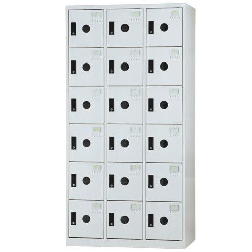 【時尚屋】DF多用途3x6尺鋼製18格置物櫃(免組裝)(免運費)(台灣製)