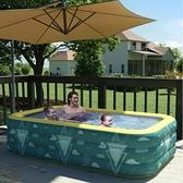 充氣游泳池家用可折疊寶寶嬰兒童游泳桶家庭大人小孩洗澡水池大型