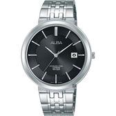 ALBA雅柏 都會時尚手錶-黑/40mm VJ42-X224N(AS9D81X1)