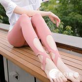 運動褲-高腰緊身運動褲速干健身長褲高彈力跑步褲踩腳瑜伽褲打底褲女緊身-奇幻樂園