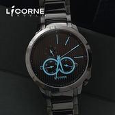 力抗LICORNE腕錶 瓦力尋寶雙眼時尚手錶 藍寶石鏡片 柒彩年代【NE892】原廠公司貨