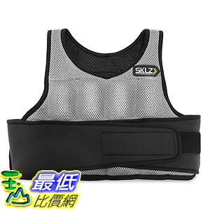 [美國直購] SKLZ SAQ-WV10-02 負重背心 重量訓練 Weighted Vest - Variable Weight Training Vest
