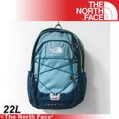 【The North Face 22L 風格雙肩背包《藍》】A93G-D4X/電腦包/旅行包/後背包/休閒★滿額送