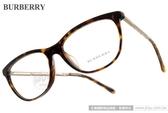BURBERRY 光學眼鏡 BU2189F 3002 (琥珀-金) 高貴氣質微貓眼款 # 金橘眼鏡