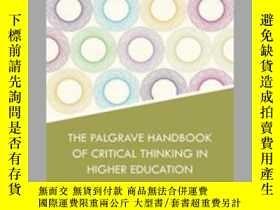 二手書博民逛書店The罕見Palgrave Handbook Of Critic
