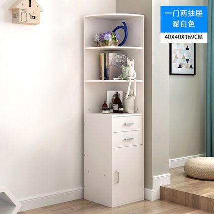 書櫃書架落地簡易置物架簡約現代收納學生用書櫥組裝桌面小書架子