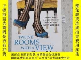 二手書博民逛書店32開英文原版罕見Twelve Rooms with a ViewY281995 Theresa Rebeck