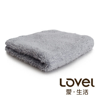 Lovel 超強吸水輕柔微絲多層次開纖紗方巾(迷霧灰)