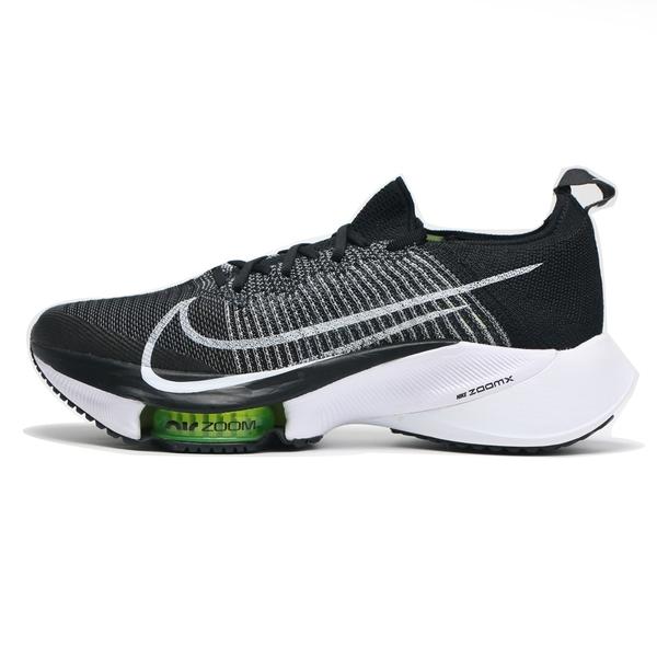 NIKE 慢跑鞋 AIR ZOOM TEMPO NEXT% FK 黑白 編織 陰陽 氣墊 男 (布魯克林) CI9923-001