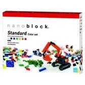 【日本KAWADA河田】Nanoblock迷你積木-彩色積木顆粒基本組 NB-014