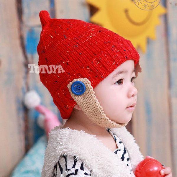 [新年戴新帽] 秋冬保暖童帽 防風 時尚 禦寒 寶寶帽 星星圖案(1-2Y)【JD0040】