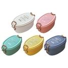 日式簡約雙層便當盒/午餐盒(1入) 款式可選【小三美日】