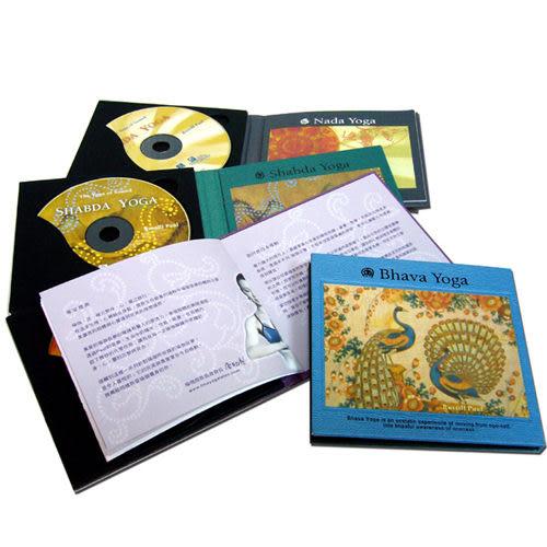 向綠音樂  神奇α波-瑜珈系列套裝 CD 4片裝 (音樂影片購)