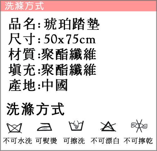 【范登伯格】琥珀☆野性美止滑地墊/踏墊-50x75cm