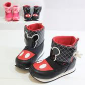 迪士尼 童鞋 米奇米妮兒童保暖雪靴  兒童 橘魔法 Baby magic 童 disney