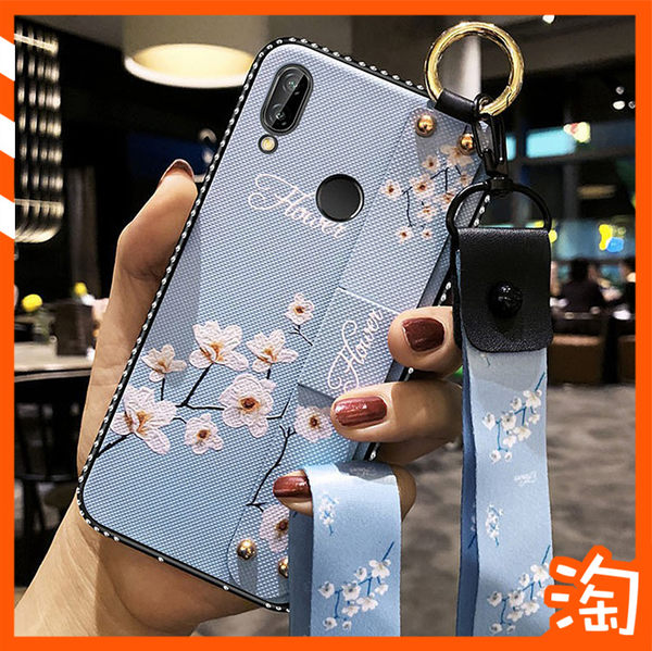 水鑽邊框復古壓花布紋背板小米9 紅米Note5 Note6 Note7 Pro Note 5 4x 4手機殼 掛繩支架手機套 防刮花