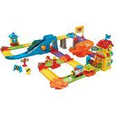 【 Vtech 聲光玩具 】嘟嘟車系列 - 聲光火車組╭★ JOYBUS玩具百貨