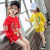 3兒童裝4女童夏裝套裝5夏天新款運動6夏季短袖7小孩衣服8歲潮