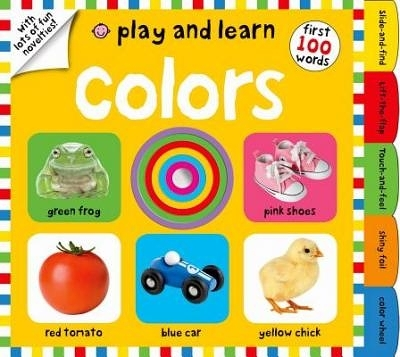 FIRST 100  WORDS :PLAY AND LEARN: COLORS 《幼兒認知操作書》