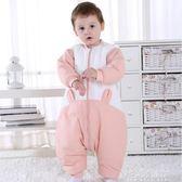 嬰兒睡袋兒童秋冬款防踢被寶寶分腿睡袋幼兒加厚純棉睡衣四季通用【解憂雜貨鋪】