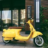 電動車 羅馬假日電瓶車 復古電摩女士雙人踏板車自行車igo 唯伊時尚