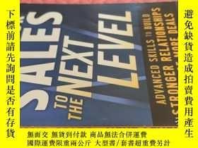 二手書博民逛書店【英文原版】Take罕見Your Sales To The Next Level( 如圖)Y25633 Cha