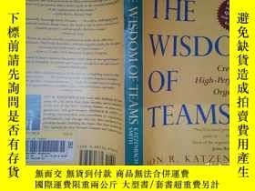 二手書博民逛書店The罕見Wisdom of Teams: Creating t
