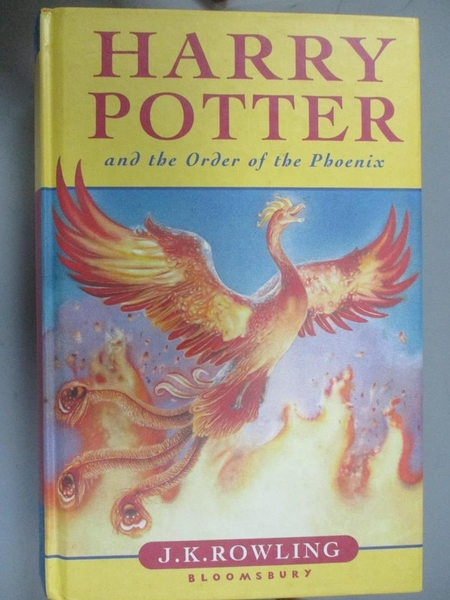 【書寶二手書T1/一般小說_JQR】Harry Potter and the Order of the Phoenix_Rowling, J. K.