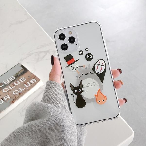 iPhone12 蘋果手機殼 預購 可掛繩 空壓殼 無臉男 矽膠軟殼 i11/iX/i8/i7/SE