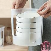 買2送1 日式碗碟收納架廚房塑料放碗架餐具收納架子碗柜【匯美優品】