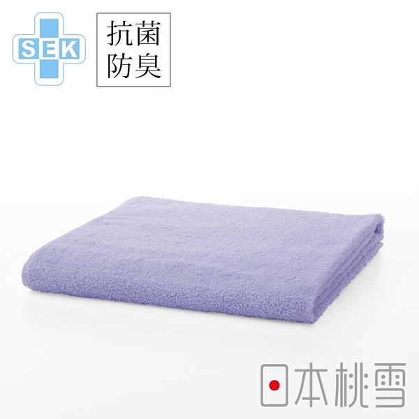 日本桃雪SEK抗菌防臭運動大毛巾(紫丁香) 鈴木太太