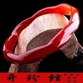 紅瑪瑙手鐲手圍17~19A貨-開運避邪投資增值{附保證書}[奇珍館]62a20