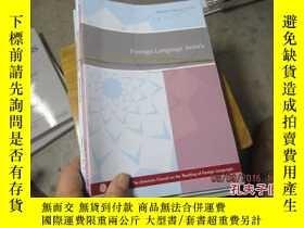 二手書博民逛書店foreign罕見language annals 2012 1-