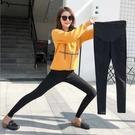 漂亮小媽咪 托腹褲 【PPW9063MI】純色 孕婦長褲 可調節 柔軟透氣 托腹 鉛筆褲 孕婦褲 高彈力托婦 []