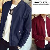 立領螺紋夾克外套【BE-J1022】(ROVOLETA)