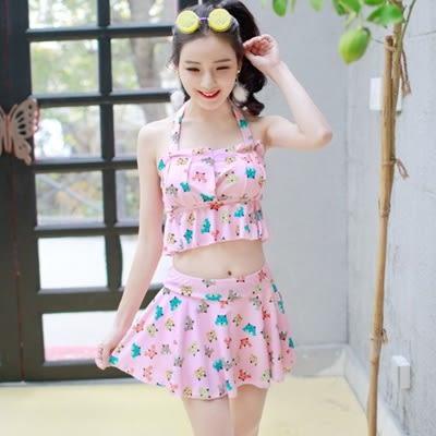 泳衣(兩件式)-比基尼-俏皮可愛動物印花女泳裝-4色73mb3【時尚巴黎】