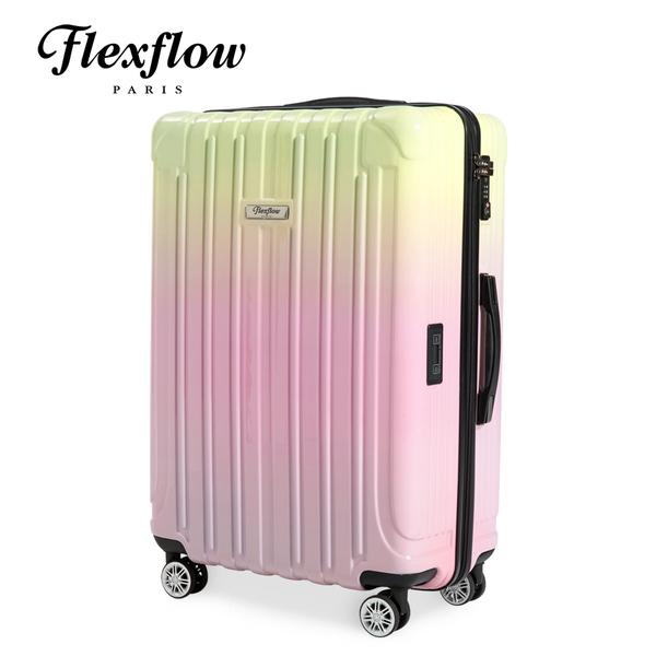 Flexflow 巴黎色票 29吋 智能測重防爆拉鍊旅行箱 里昂系列 29吋行李箱 【官方直營】