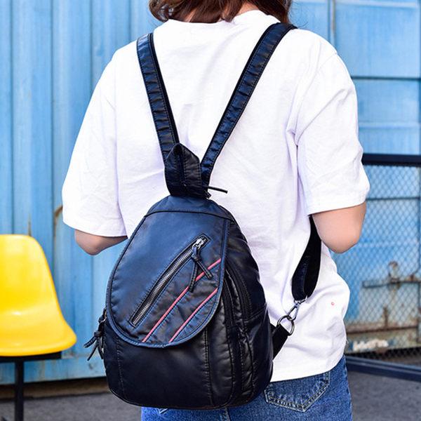 (現貨)多功能後背包 肩背帶可拉合當側背包使用 共2色(FB191) /寶來小舖