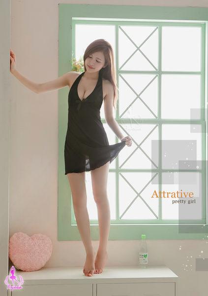 冰山美人!黑色柔緞睡衣 (OS shop)
