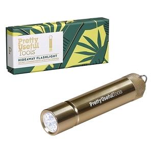 【Pretty Useful Tools】隨身LED多功能手電筒-金色