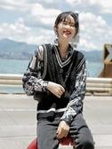 LRUD馬甲女2020秋季新款韓版寬鬆V領小香風馬甲黑色針織上衣外穿  【鉅惠85折】