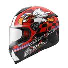 【東門城】ASTONE GTB800 AO18 (紅/黑) 全罩式安全帽 內藏墨鏡 救援快拆系統