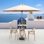 戶外遮陽傘庭院羅馬傘3米中柱傘室外花園傘螺桿傘大型擺攤太陽傘 LN1347 【雅居屋】
